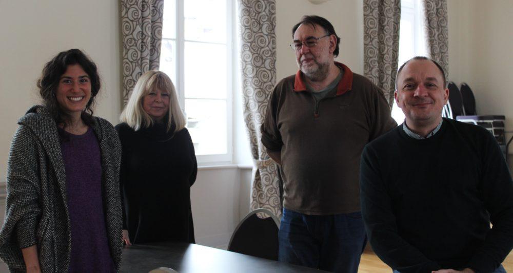 Mariana Giani, Sylvaine Toulon, Gilles Barjou et Cédric Clech (crédits : Morgane Macé / Profession Spectacle)