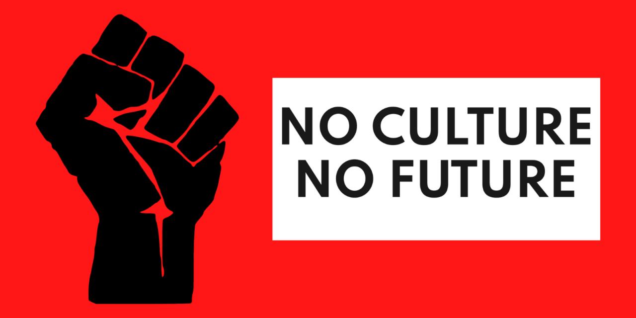 En Suisse, des acteurs culturels occupent les villes avec un slogan punk
