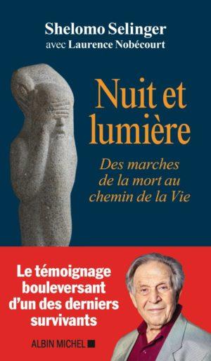 Shelomo Selinger Nuit et lumière Albin Michel couverture