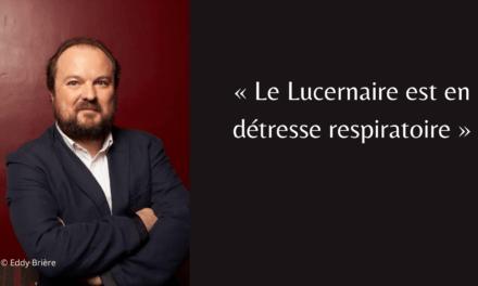 """Benoît Lavigne: """"Le Lucernaire est en détresse respiratoire"""""""