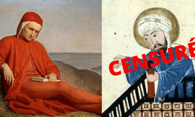 La sinistre Comédie ou Mahomet trop al Dante