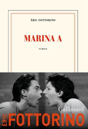 Éric Fottorino, Marina A, Gallimard couverture