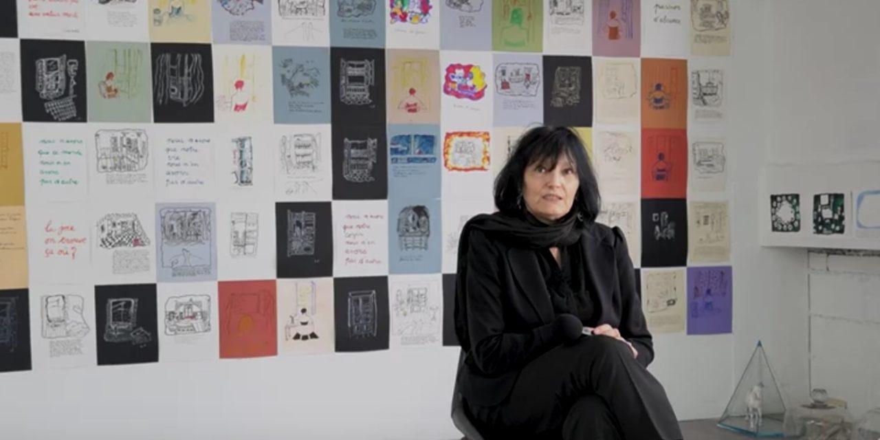 Vidéo. L'autrice et metteuse en scène Lydie Parisse dévoile son œuvre de plasticienne