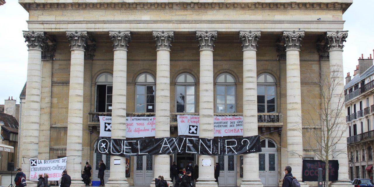 "Occupation du théâtre à Dijon: ""On restera tant qu'il faudra!"""