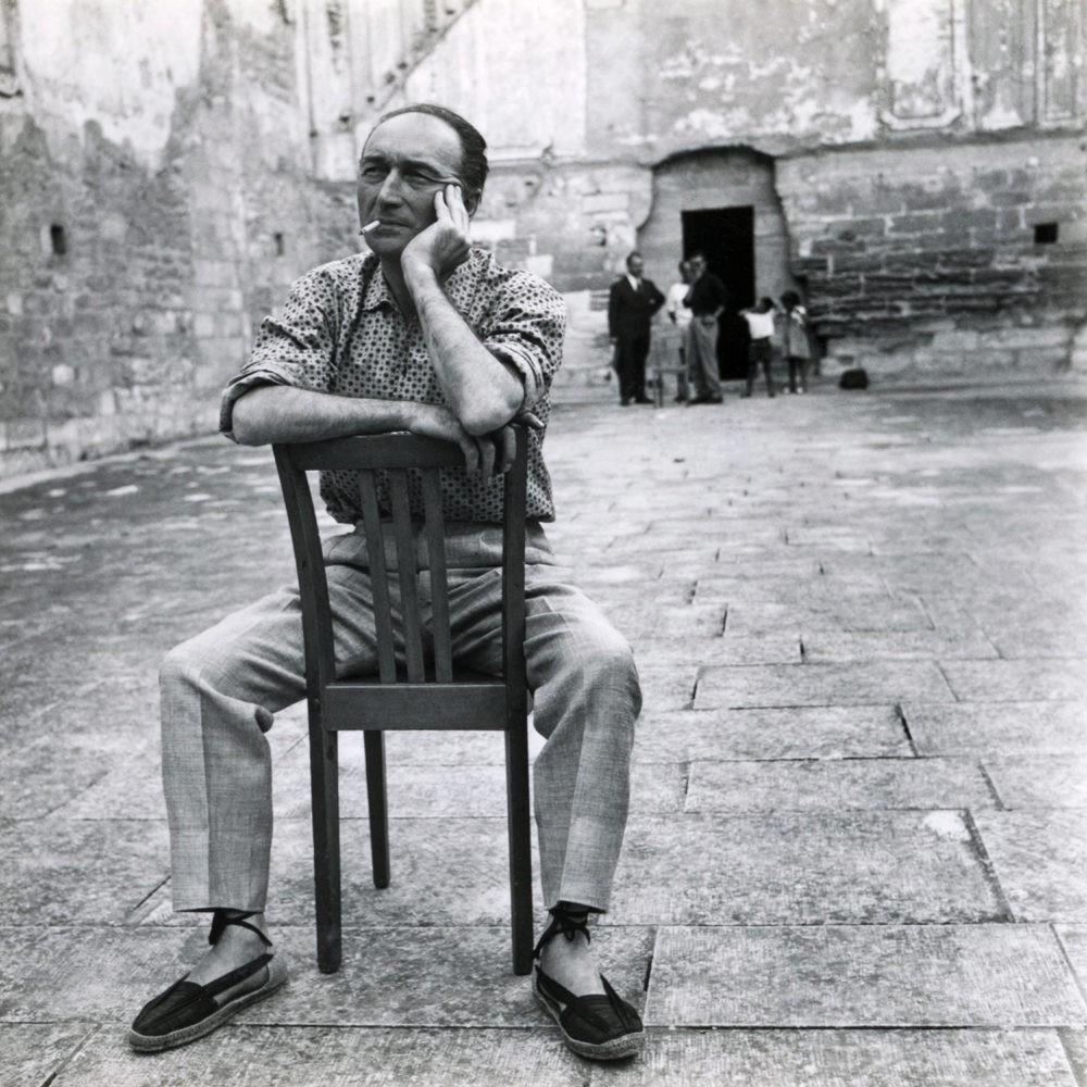 Jean Vilar, 1958 (© Agnès Varda - Succession Varda)