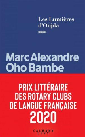 Marc Alexandre Oho Bambe, Les lumières d'Oujda, Calmann-Lévy couverture