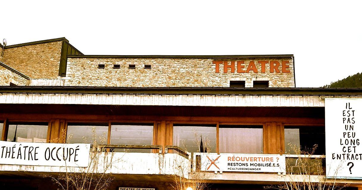 Les militants du théâtre de Mende votent la fin de l'occupation