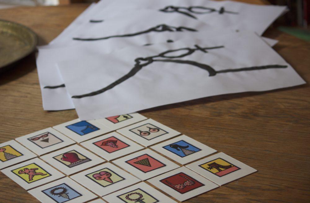 """2e étape pour concevoir une affiche. Choix de la vignette pour être l'affiche de """"King Kong Theory"""", de Virginie Despentes (© Louise Alméras / Profession Spectacle)"""
