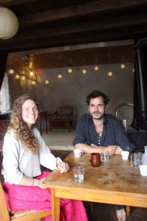 Baudoin Cristovéanu et Sophie Foster dans Le Chez vous (crédits : Morgane Macé / Profession Spectacle)