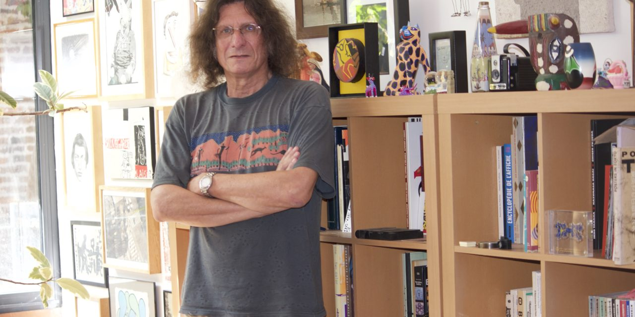 Michel Bouvet, l'affichiste de théâtre connu à l'international