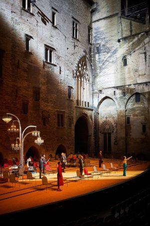 La Cerisaie Avignon (Christophe Raynaud de Lage Festival d'Avignon)
