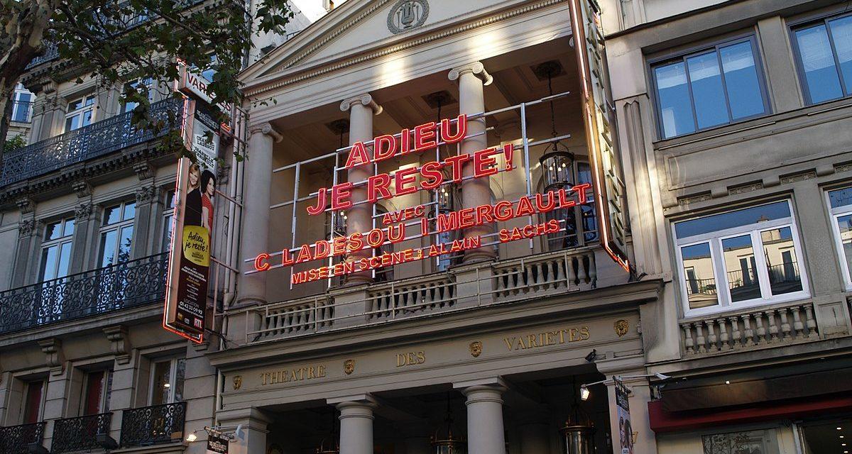 Le Théâtre des Variétés recrute un régisseur général (h/f)