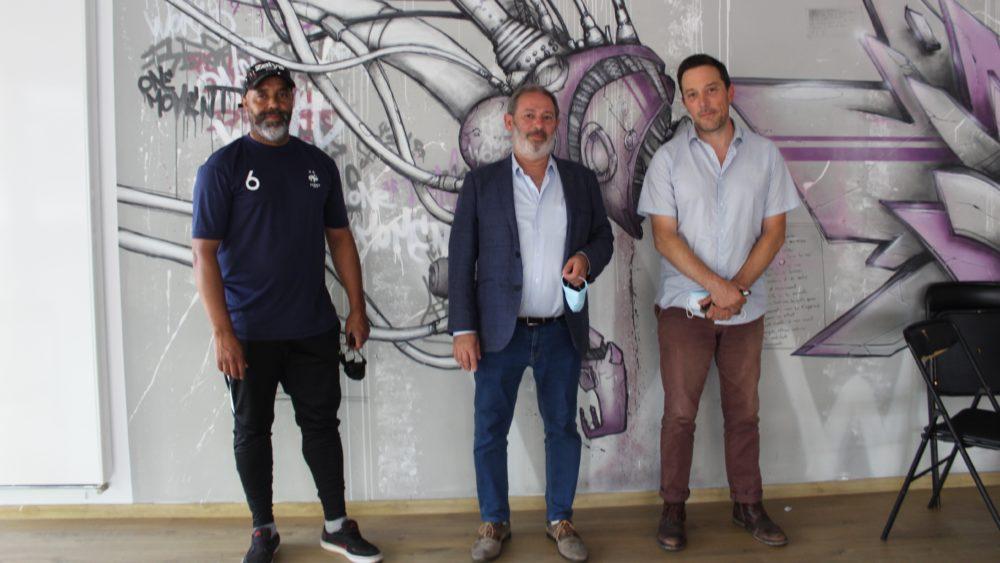 Rachid Kassi, Robert LLorca et Géraud Malard (© Morgane Macé / Profession Spectacle)